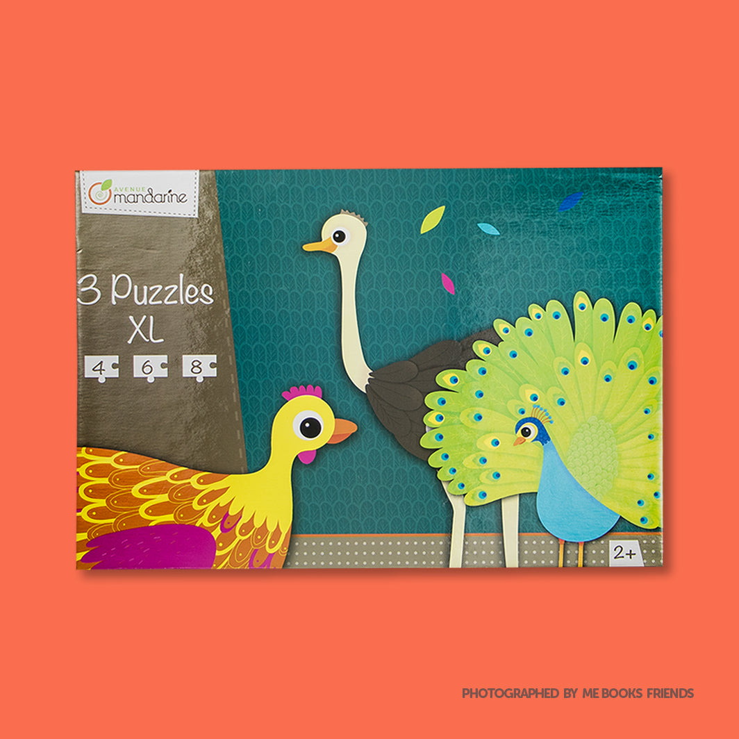 Avenue Mandarine 3 XL Puzzles-Feathered Creatures - Me Books Store