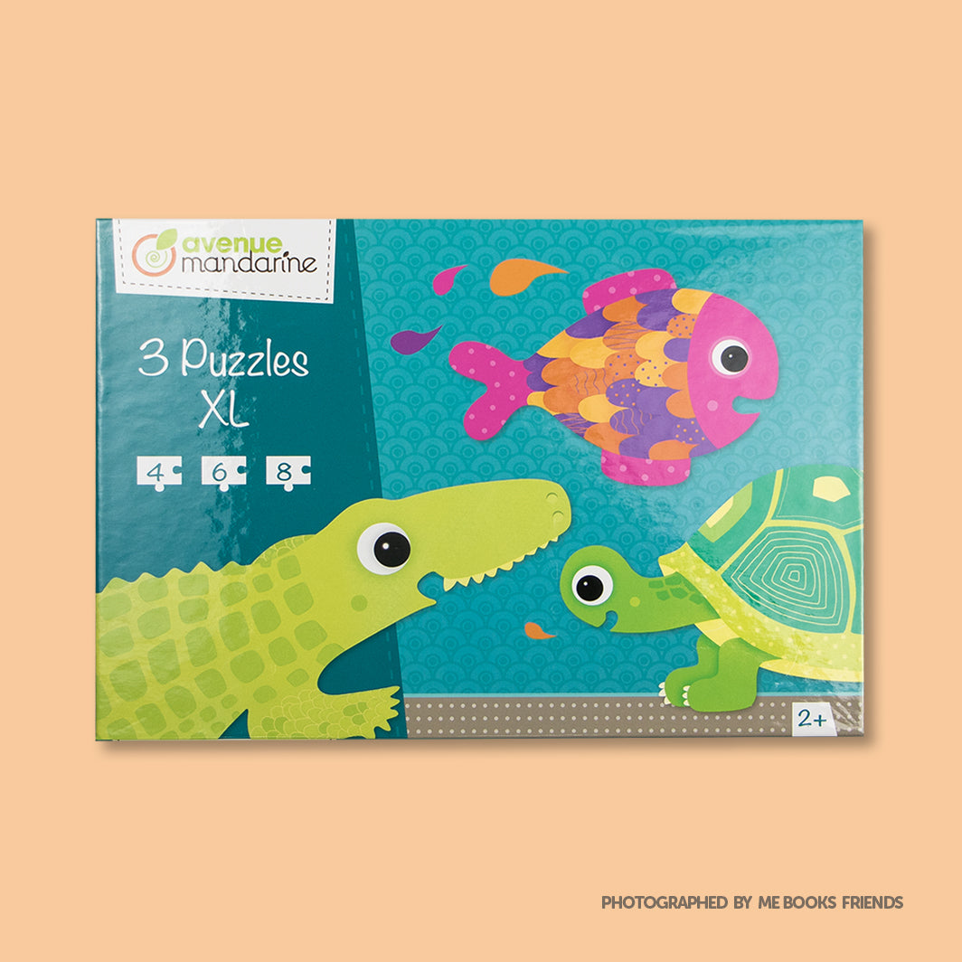 Avenue Mandarine 3 XL Puzzles-Scaled Creatures - Me Books Store