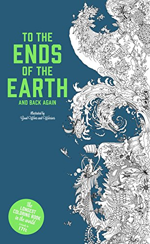 To the Ends of the Earth and Back Again: The Longest Coloring Book in the World - Me Books Asia Store