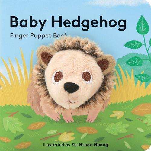 Baby Hedgehog: Finger Puppet Book - Me Books Asia Store