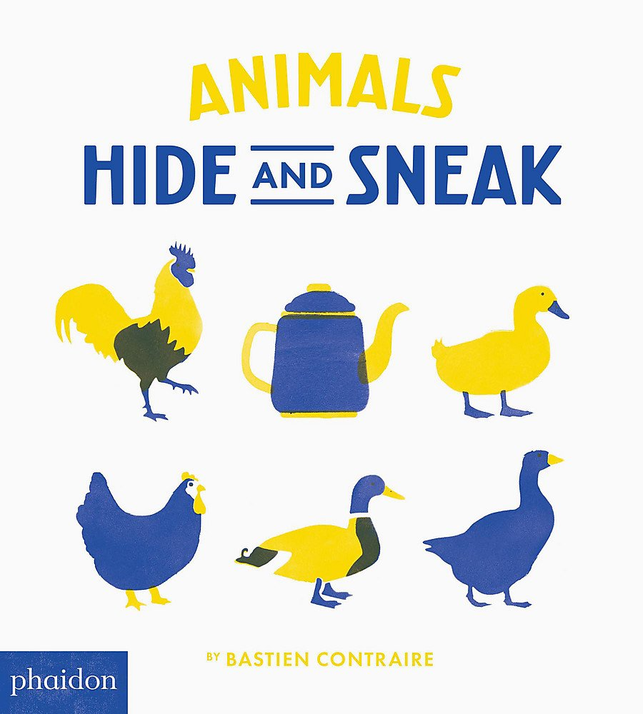Animals Hide and Sneak - Me Books Asia Store
