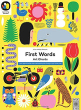 Learning Garden: First Words - Art Charts - Me Books Asia Store