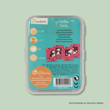 Avenue Mandarine Card Games Happy Families - Me Books Store