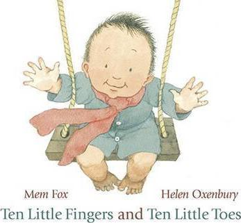 Ten Little Fingers and Ten Little Toes - Me Books Asia Store