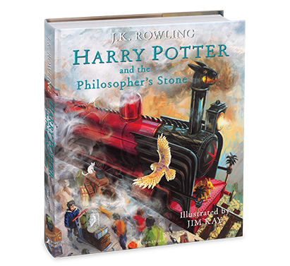 Harry Potter and the Philosopher's Stone Illustrated Edition - Me Books Asia Store