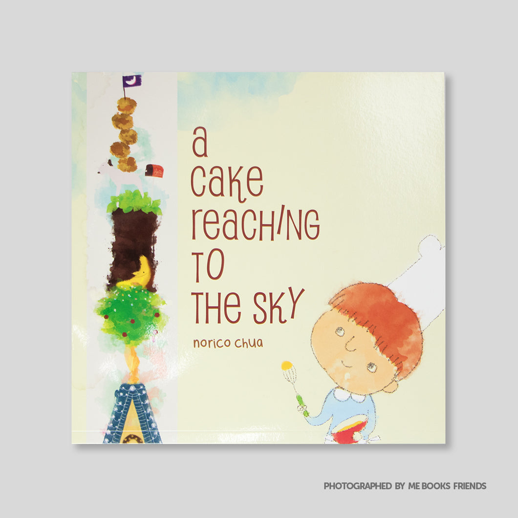 A Cake Reaching to the Sky - Me Books Store