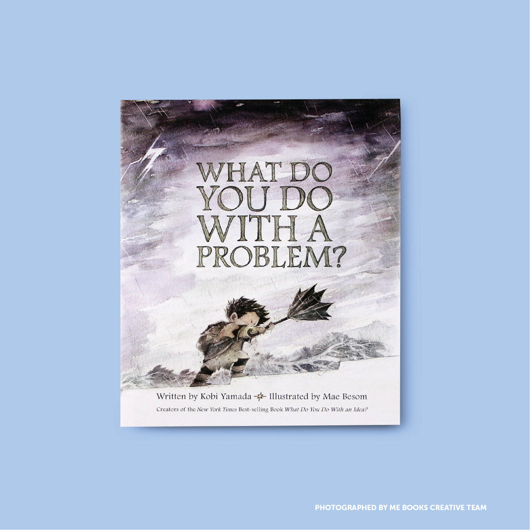 What Do You Do With A Problem? Front Cover | Me Books Store