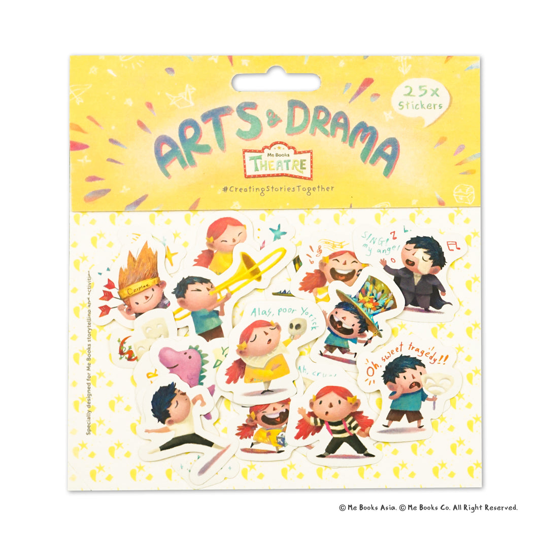Me Books Theatre Stickers: Arts & Drama - Me Books Asia Store