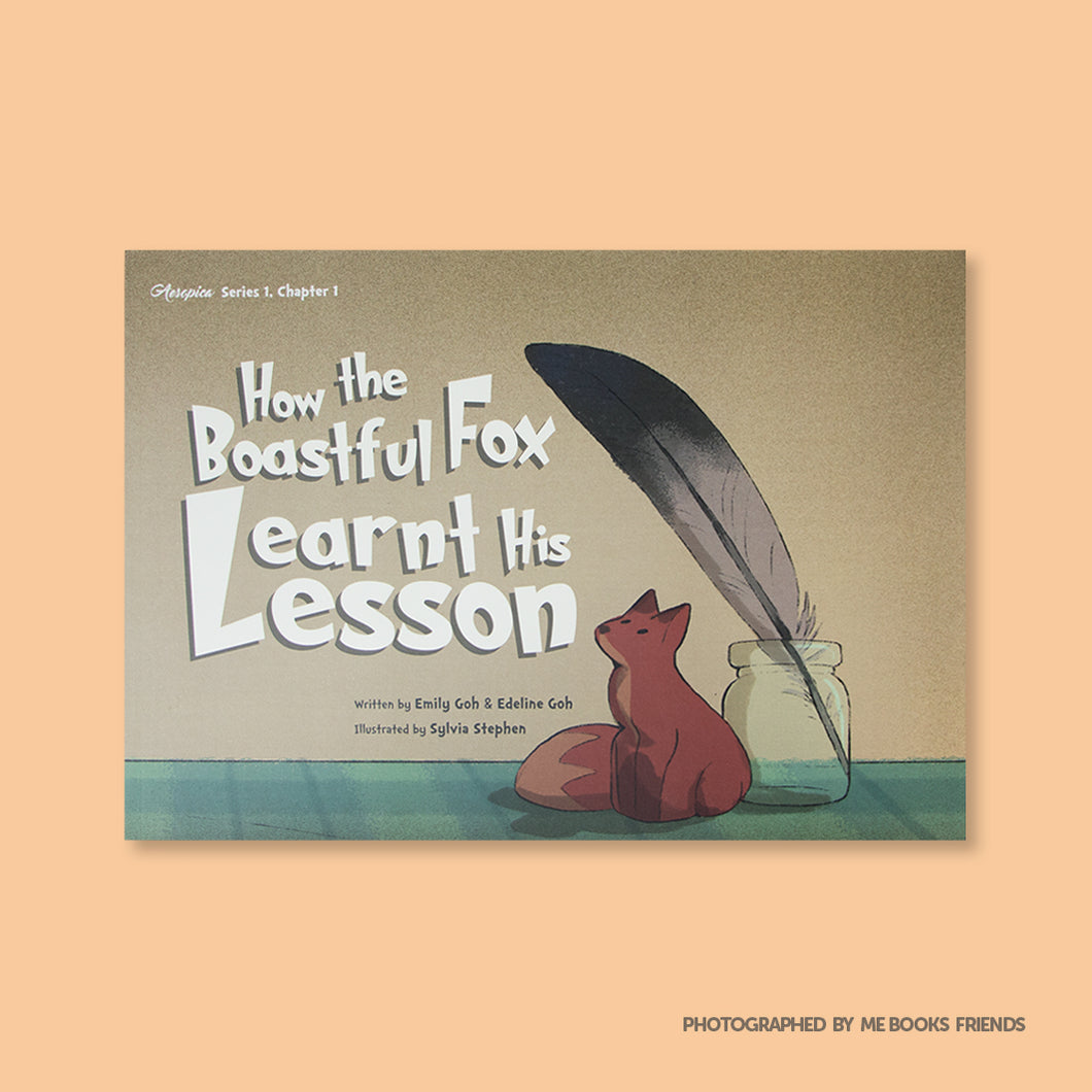 How the Boastful Fox Learnt His Lesson - Me Books Store