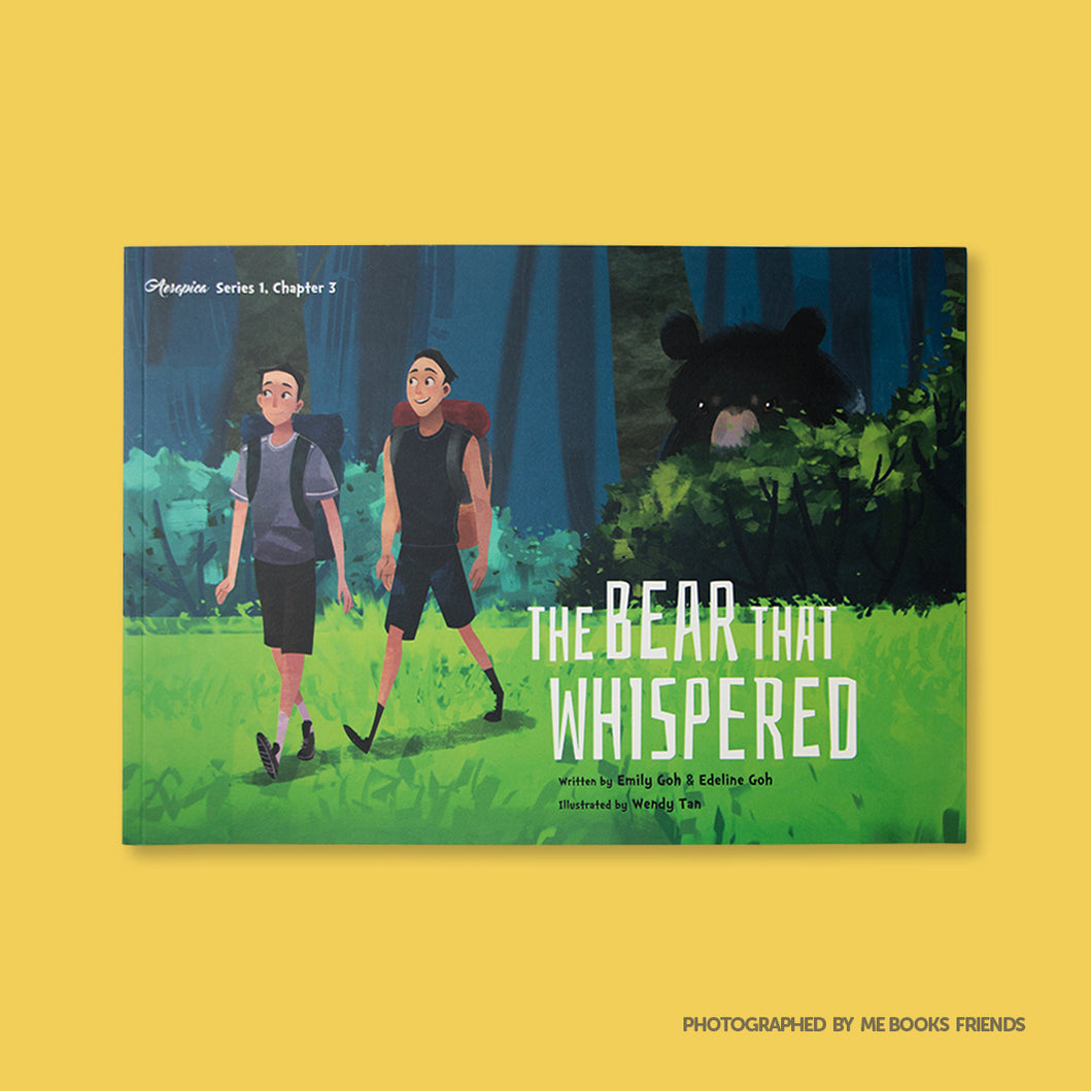 The Bear That Whispered - Me Books Store