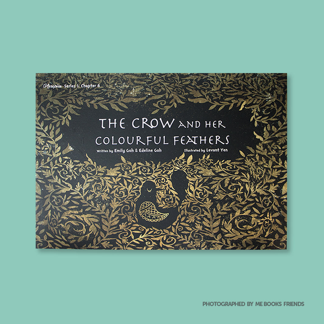 The Crow and Her Colourful Feathers - Me Books Store