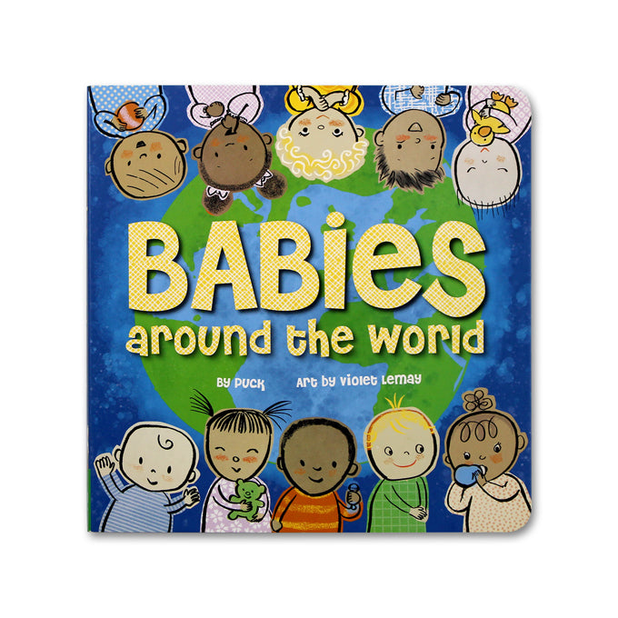Babies Around the World - Me Books Asia Store