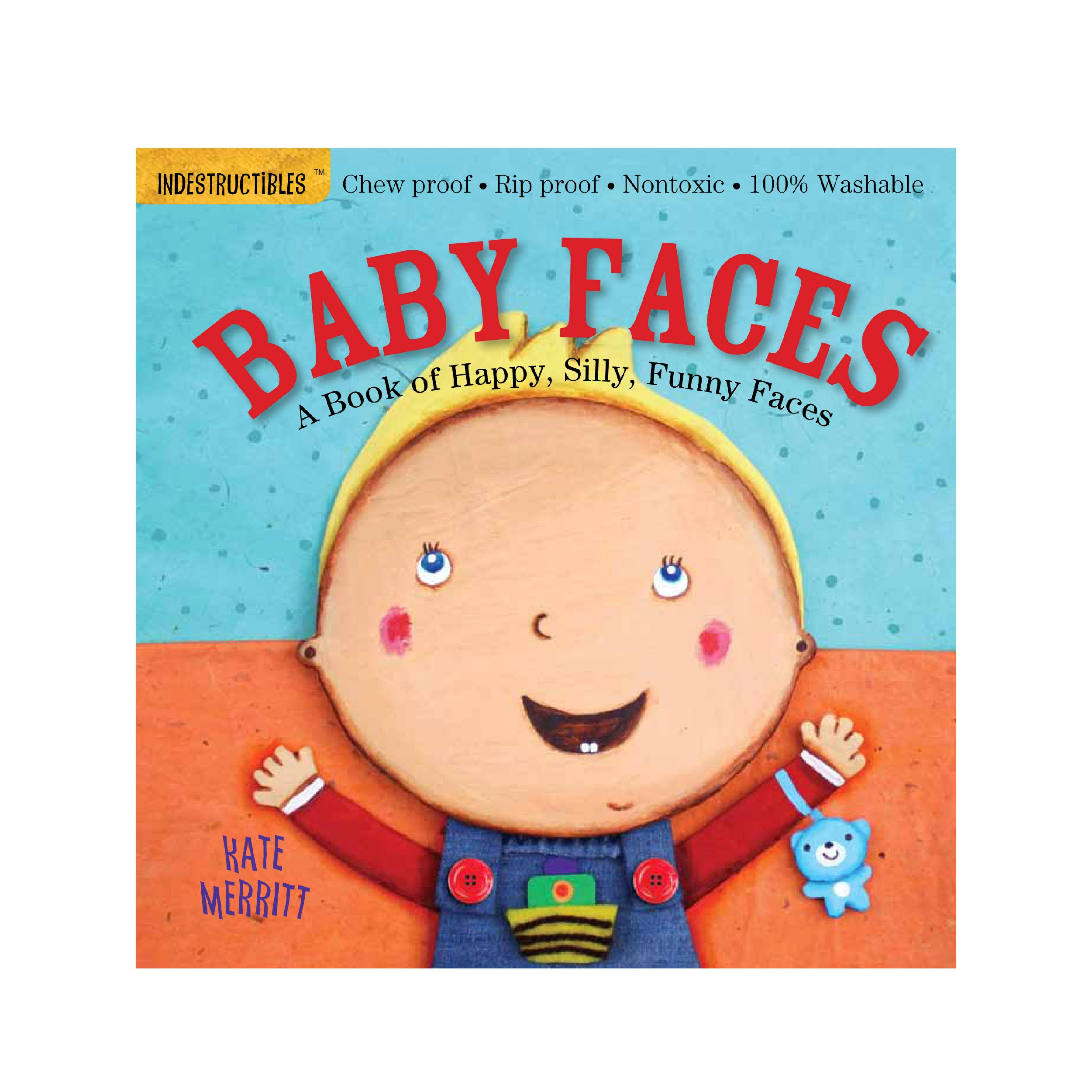 Indestructibles: Baby Faces - Me Books Store