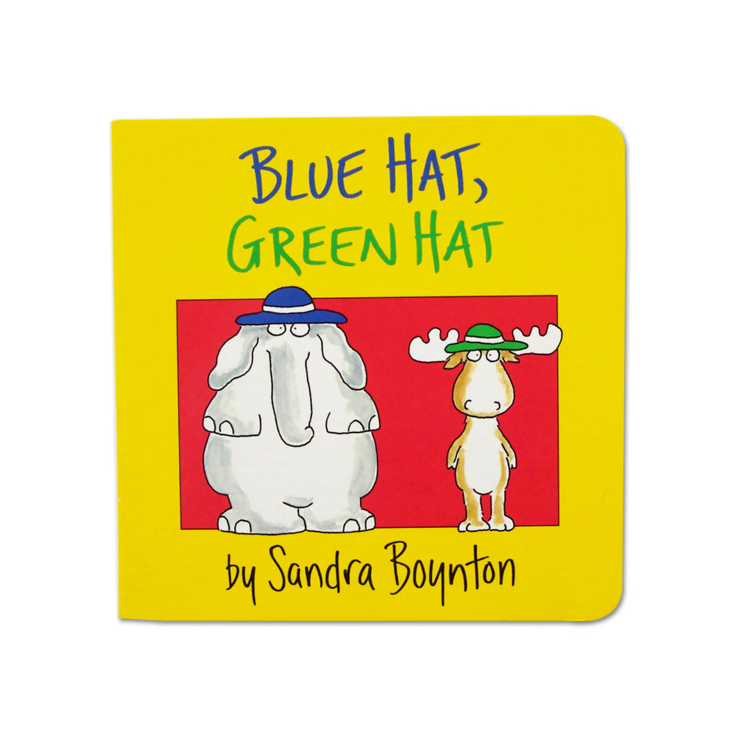 Blue Hat, Green Hat (Boynton on Board) - Me Books Asia Store