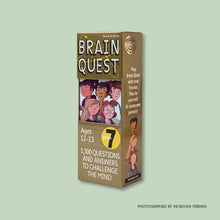 Brain Quest Grade 7: 1,500 Questions and Answers to Challenge the Mind - Me Books Store