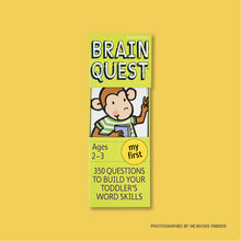 My First Brain Quest: 350 Questions and Answers To Build Your Toddlers Word Skills (Revised) - Me Books Store