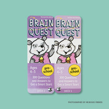 Brain Quest Preschool: 300 Questions and Answers to Get a Smart Start - Me Books Store