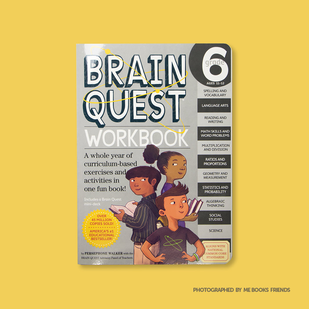 Brain Quest Workbook: Grade 6 - Me Books Store