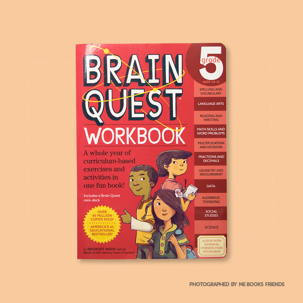 Brain Quest Workbook: Grade 5 - Me Books Store