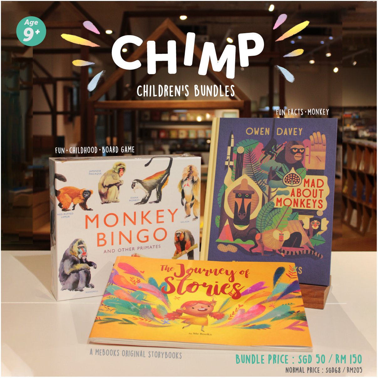Chimp Children's Bundle