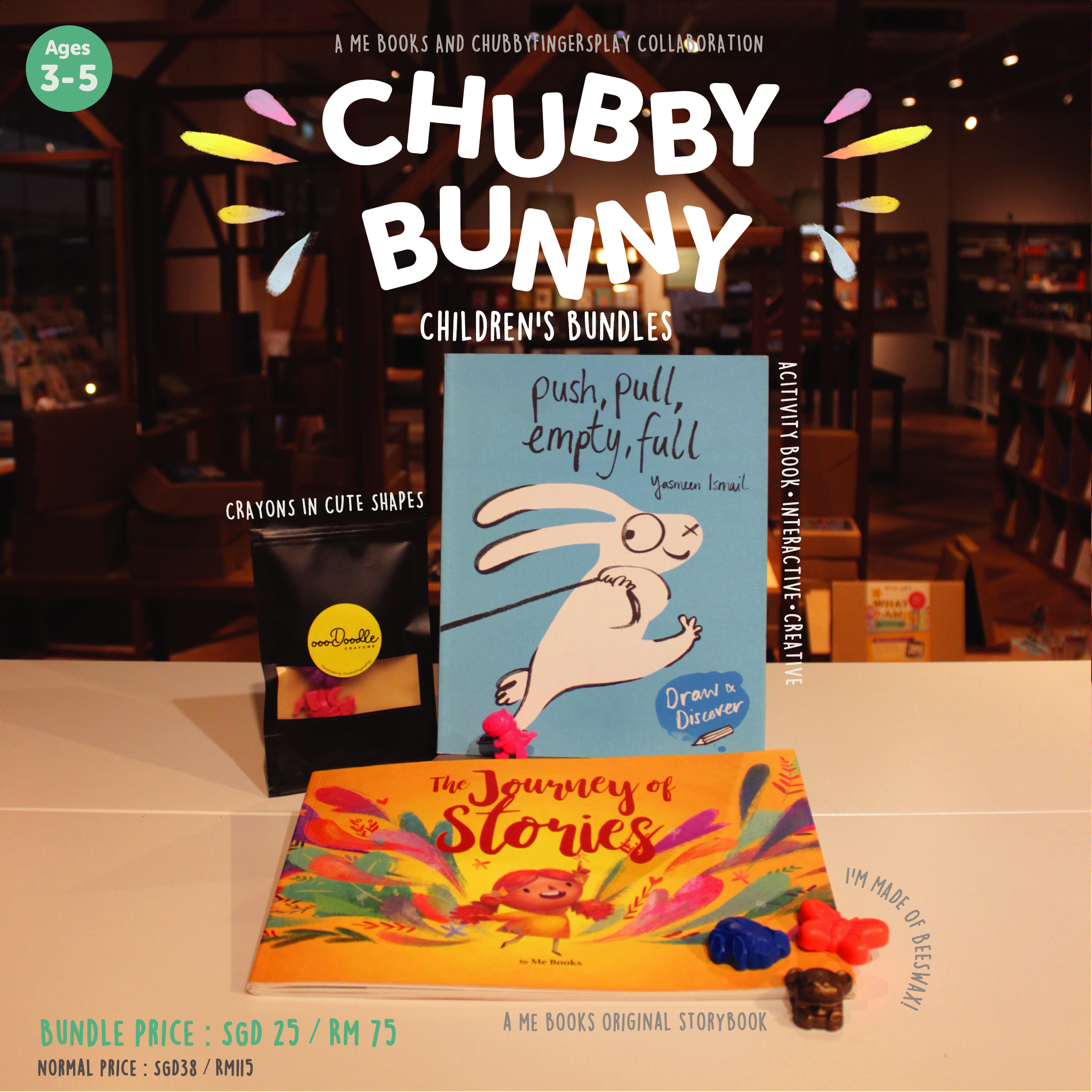 Chubby Bunny Children's Bundle