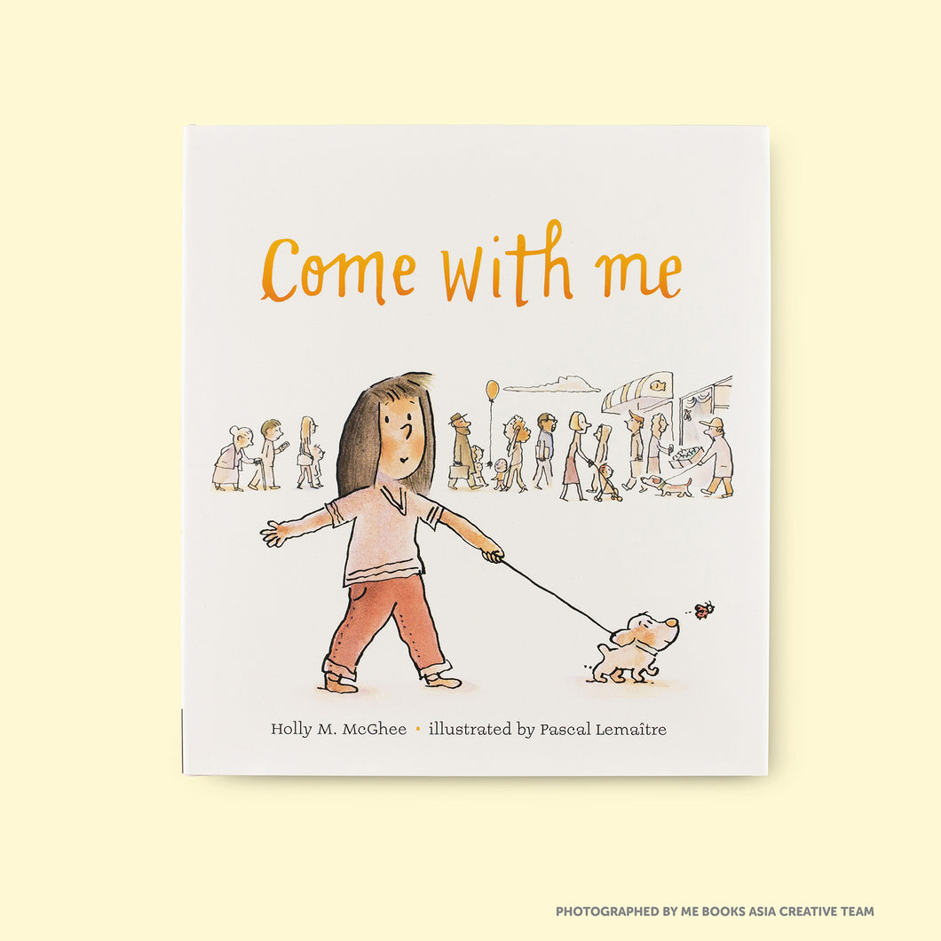 Come With Me Front Cover | Me Books Store