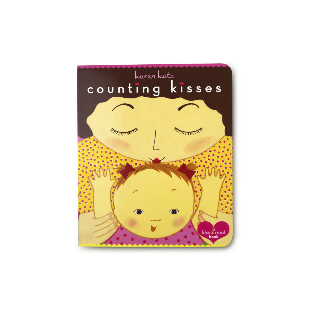 Counting Kisses (Classic Board Books) -9780689856587 - Me books Asia Store