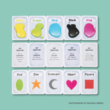Colour & Shapes Learning Cards - by Cubicto Studio - Me Books Store