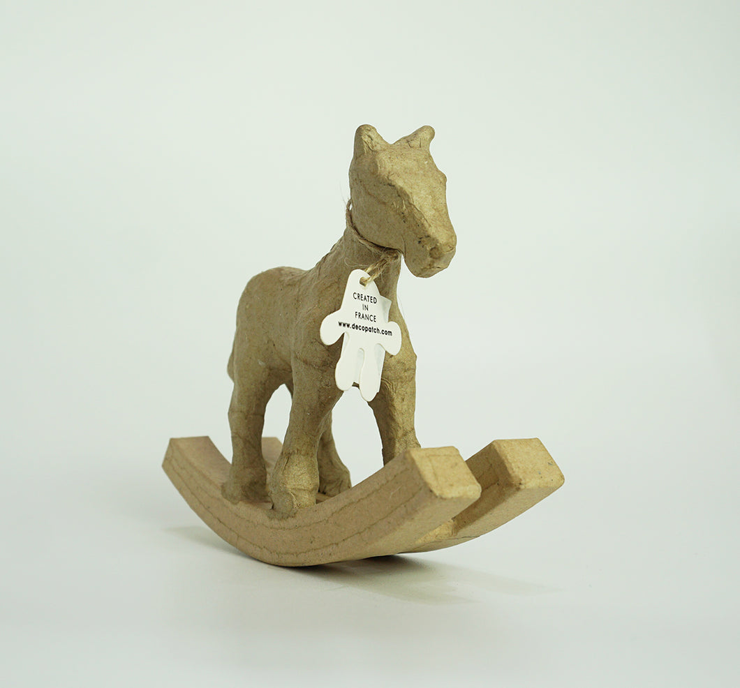 Decopatch Pulp Small Rocking Horse - Me Books Asia Store