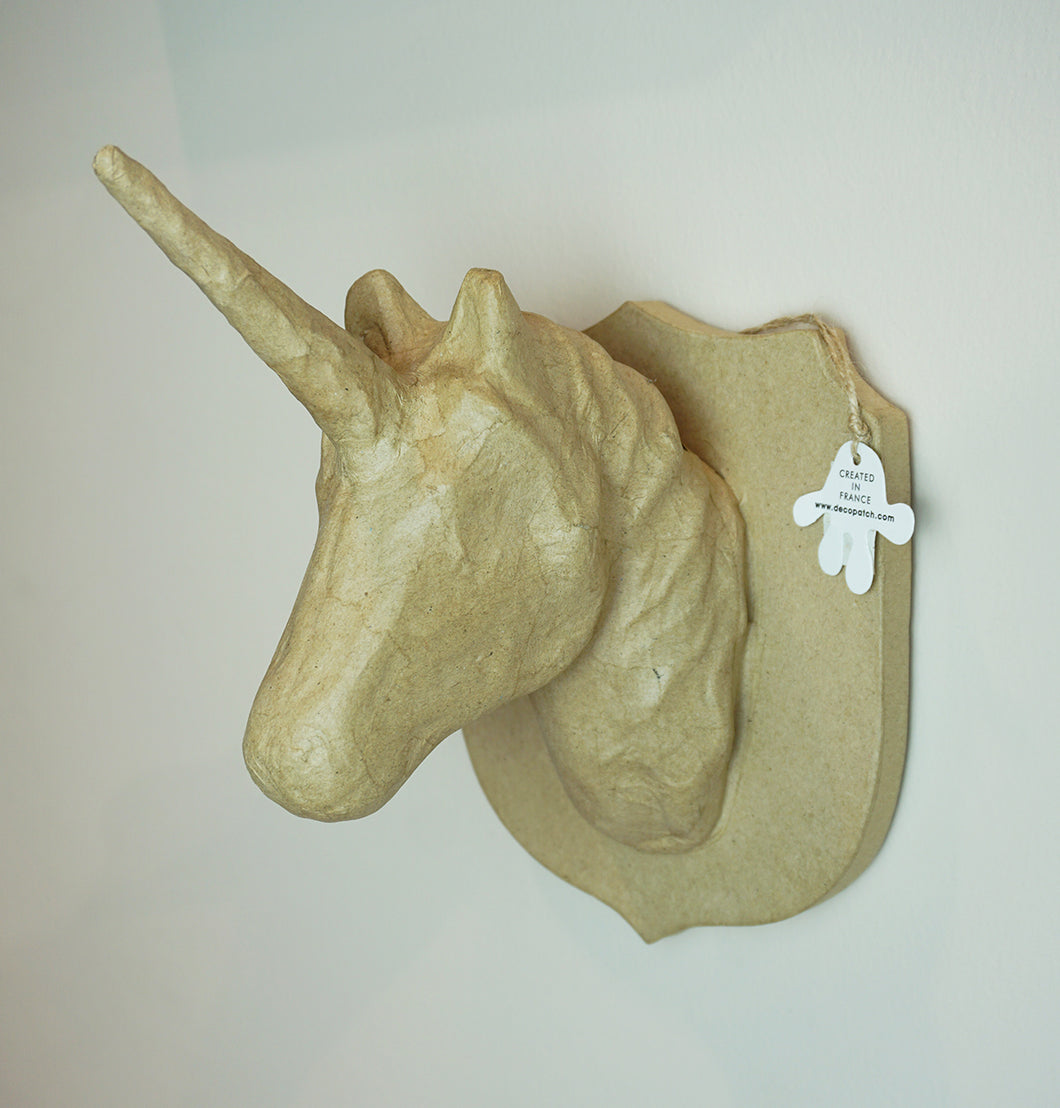 Decopatch Large Trophies Unicorn Head - Me Books Asia Store