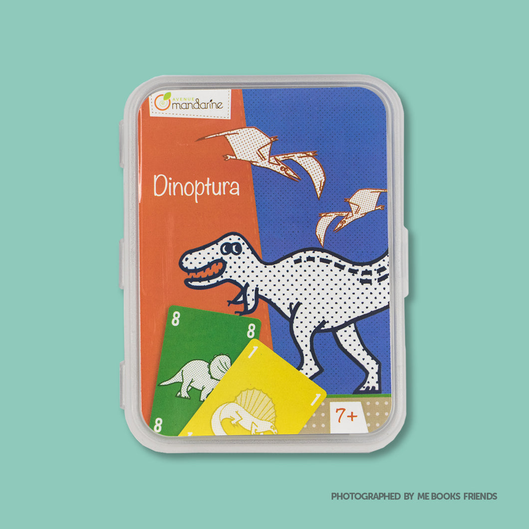 Avenue Mandarine Card Games Dinoptura - Me Books Store