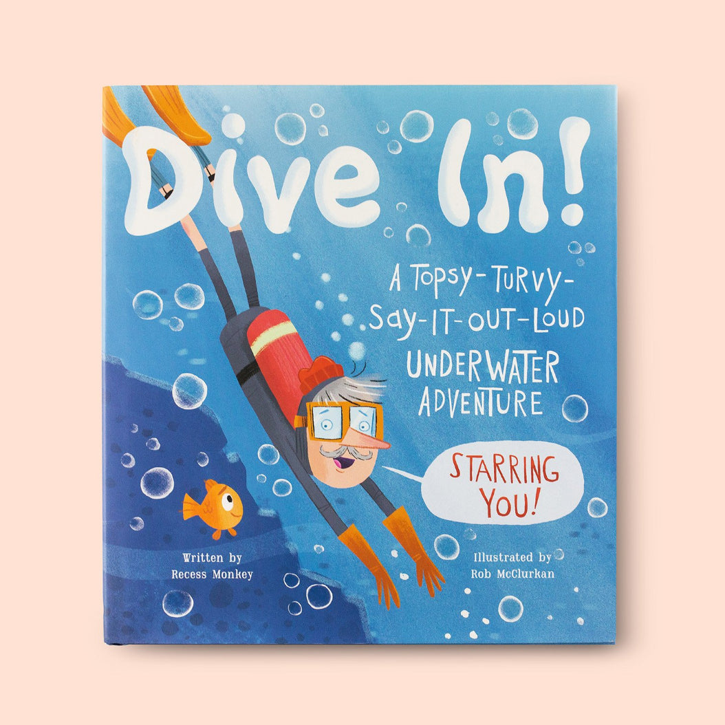 Dive In! Front Cover | Me Books Store