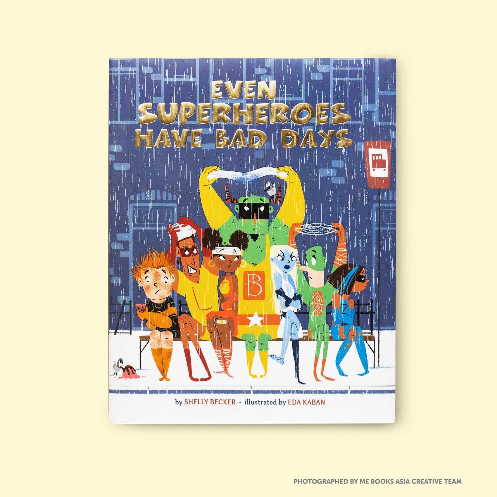 Even Superheroes Have Bad Days Front Cover | Me Books Store