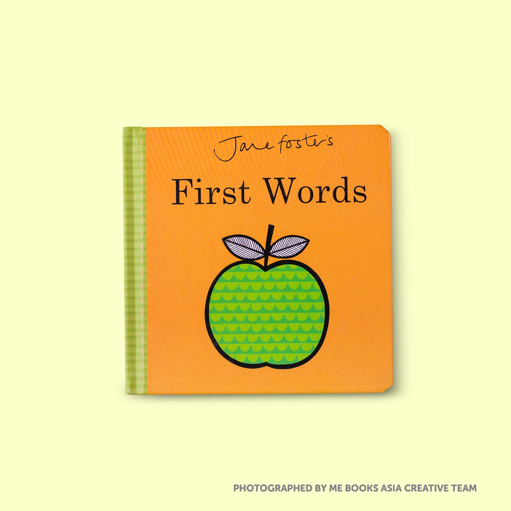 Jane Foster's First Words Front Cover | Me Books Store