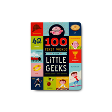 100 First Words for Little Geeks - Me Books Asia Store