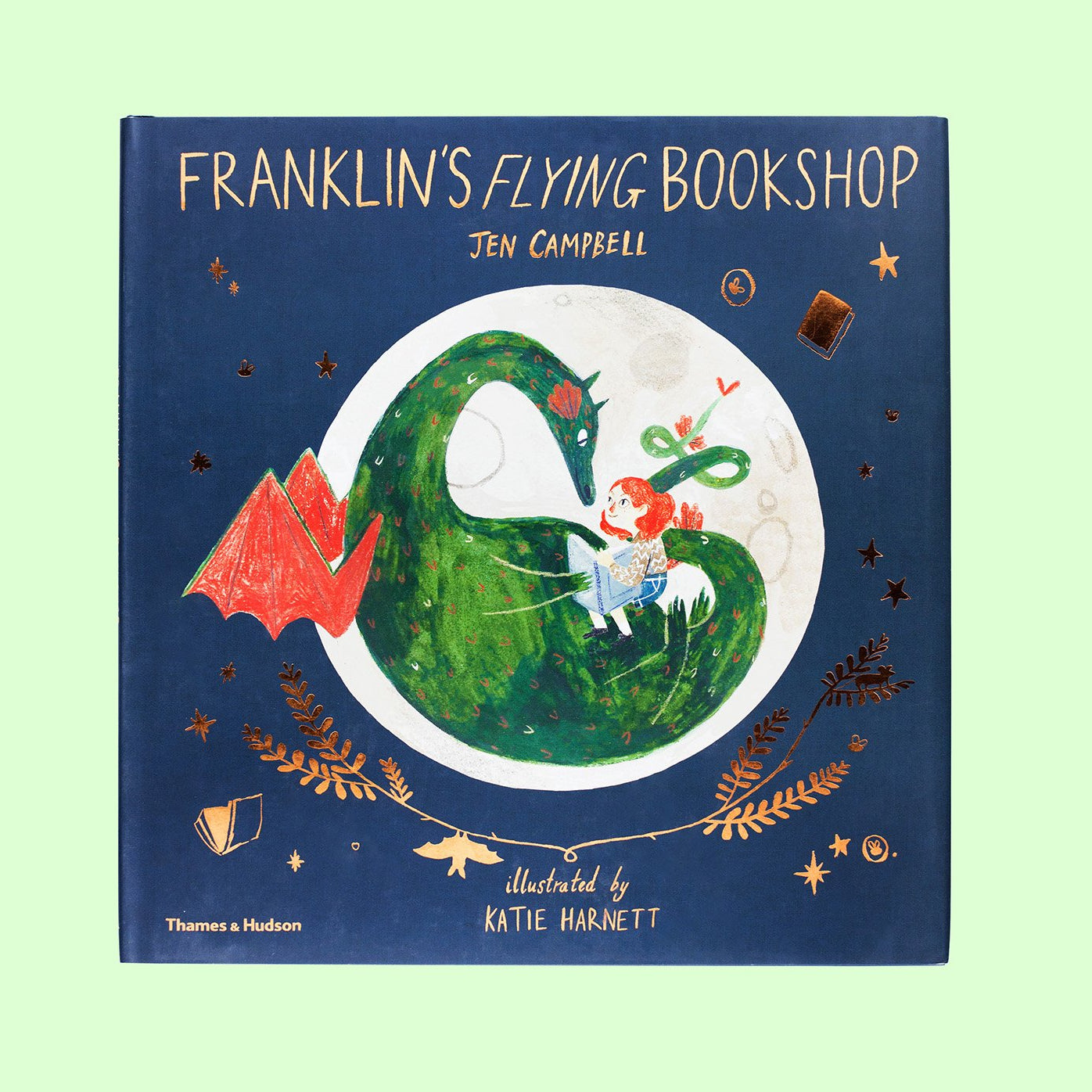 Franklin's Flying Bookshop Front Cover | Me Books Store