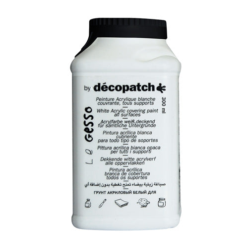 Décopatch GESSO White Acrylic Covering Paint - Me Books Asia Store