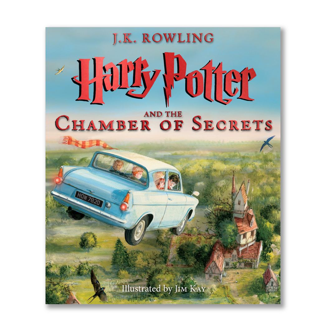 Harry Potter and the Chamber of Secrets: The Illustrated Edition (Harry Potter, Book 2), Volume 2 ( Harry Potter #2 ) - Me Books Store