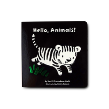 Hello, Animals! (Black and White Sparklers) (Tiger Tales) - Me Books Asia Store