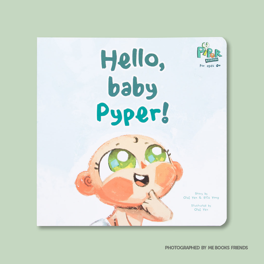 Hello, Baby Pyper! - Picture Book by Cubicto Studio - Me Books Store