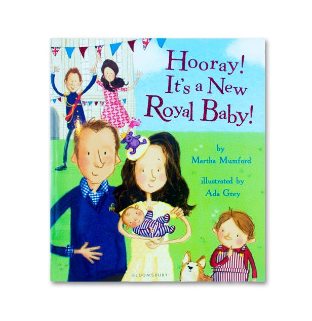 Hooray! It's a New Royal Baby - Me Books Asia Store