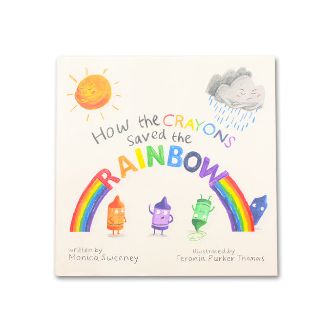 How The Crayons Saved the Rainbow - Me Books Asia Store