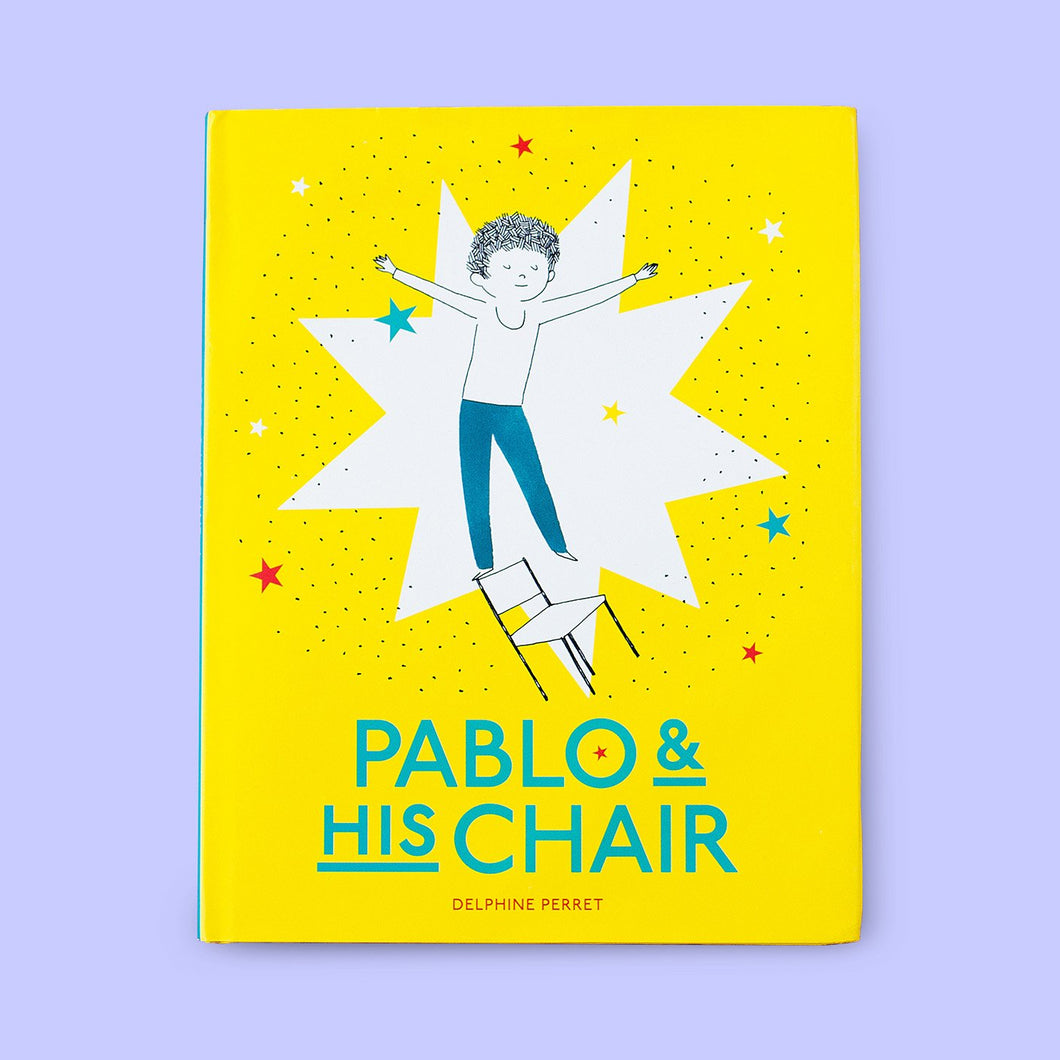 Pablo and His Chair Front Cover | Me Books Store