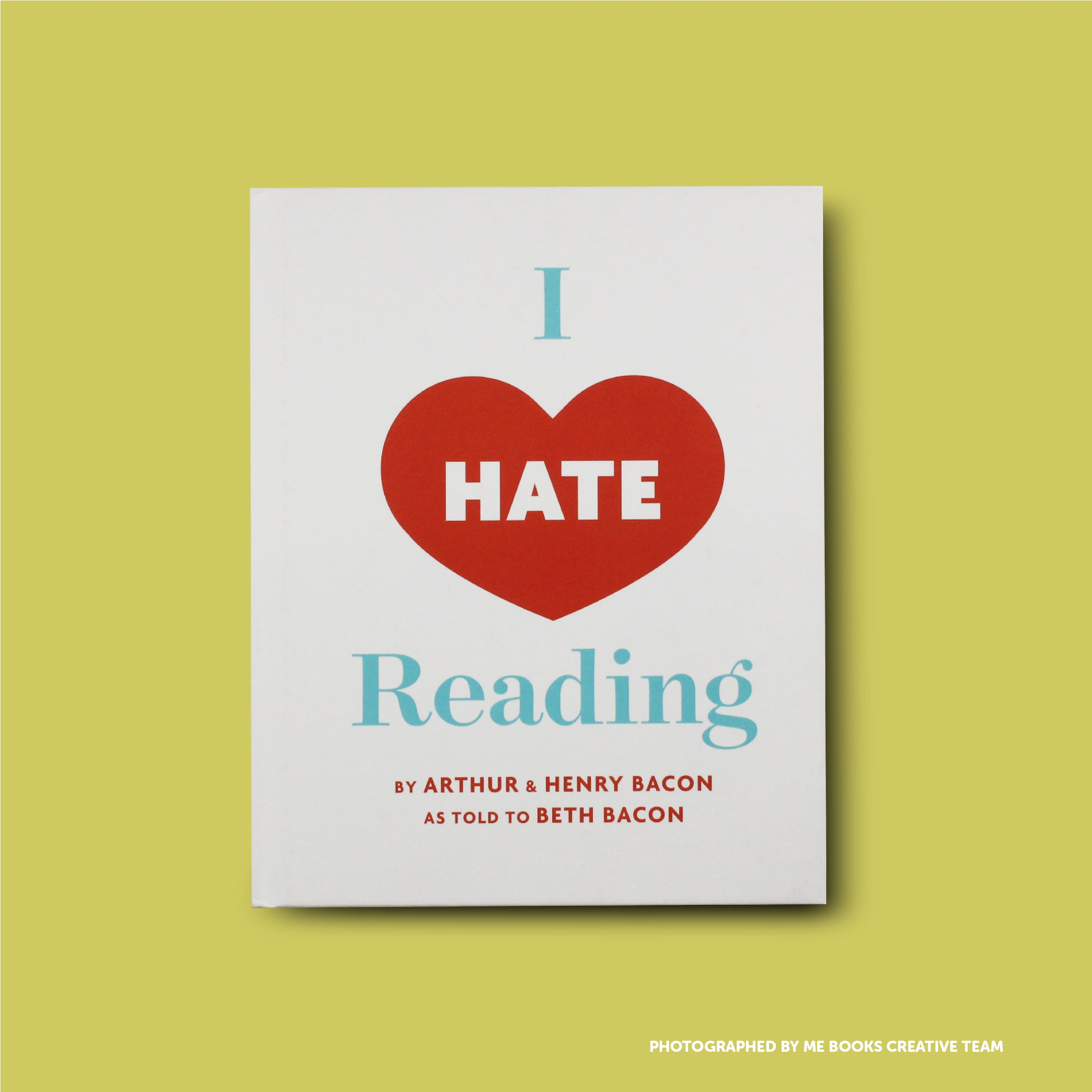 I Hate Reading Front Cover | Me Books Store