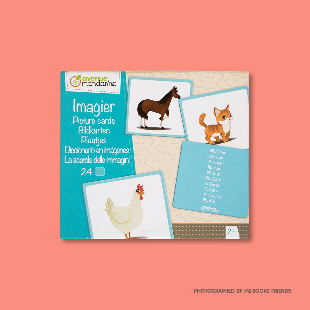 Avenue Mandarine Picture Cards Domestic Animals - Me Books Store