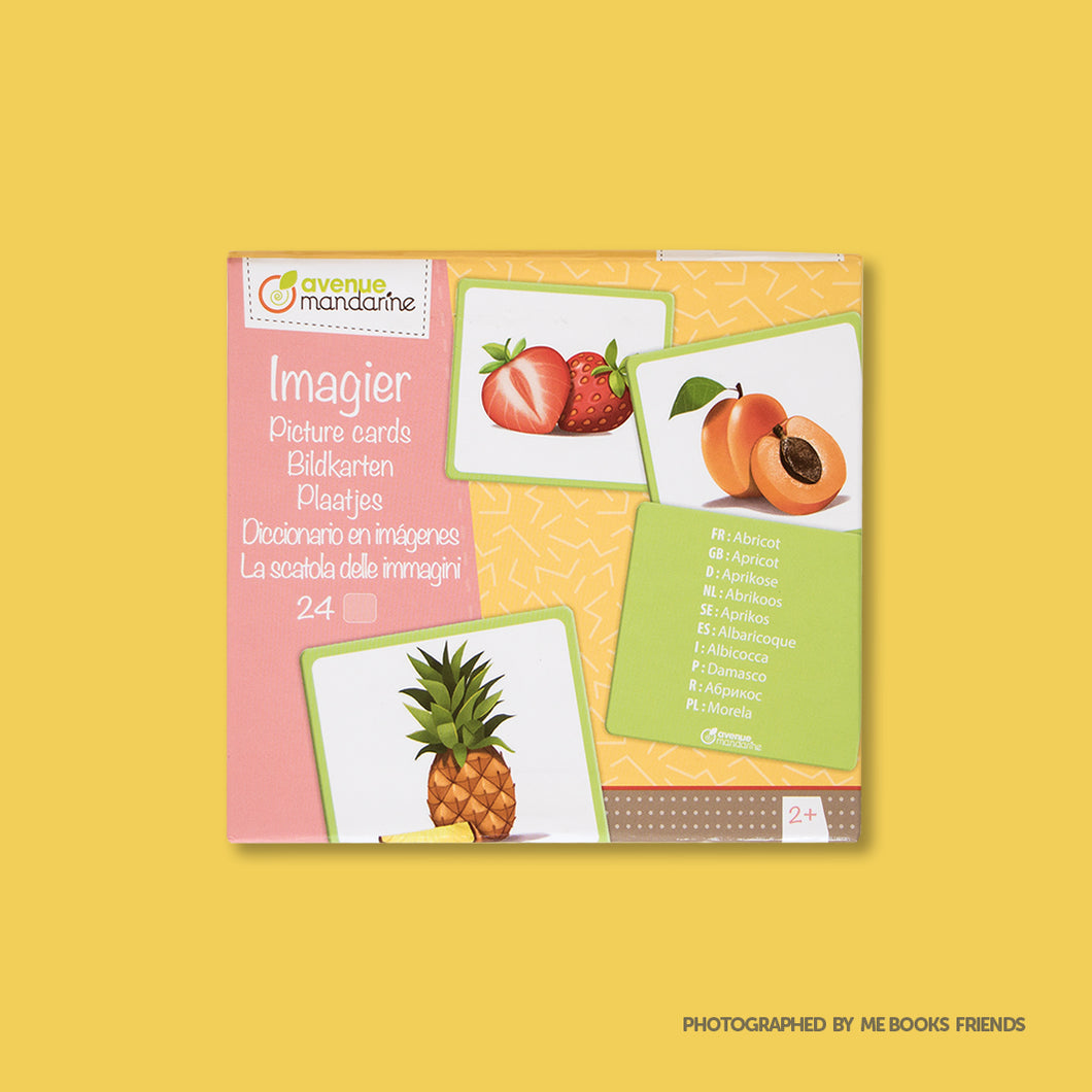 Avenue Mandarine Picture Cards Fruits - Me Books Store