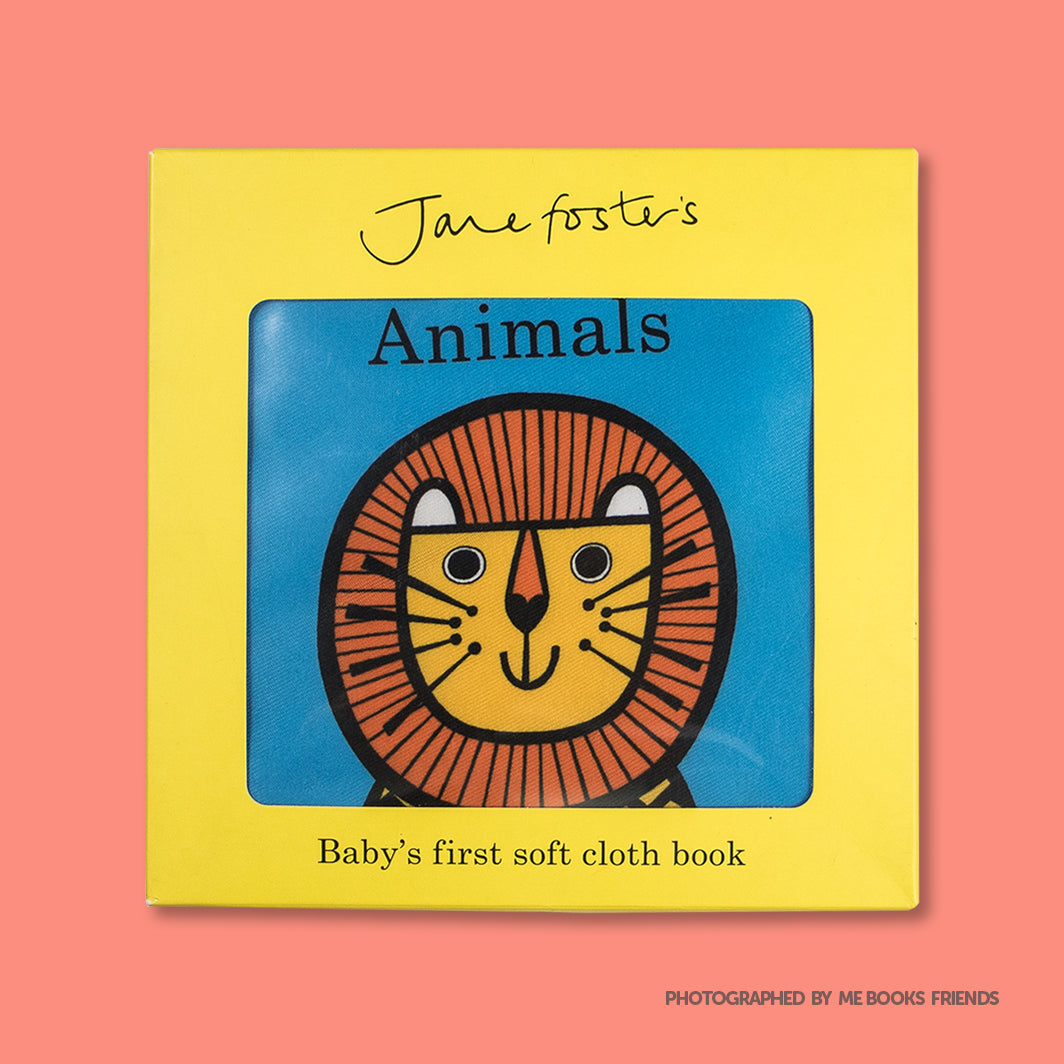 Jane Foster's Animals cloth book - Me Books Store