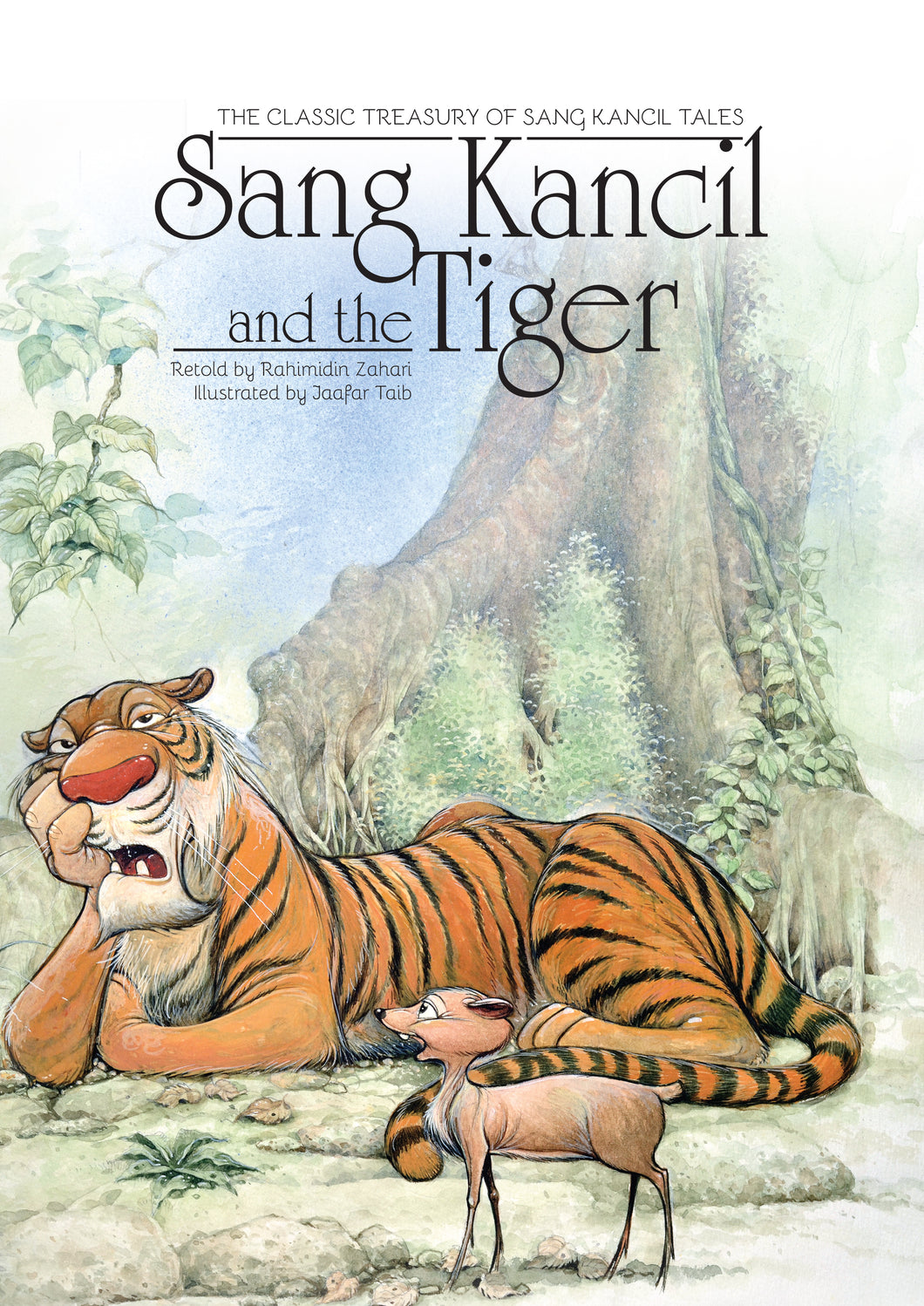 Sang Kancil and the Tiger - Me Books Store