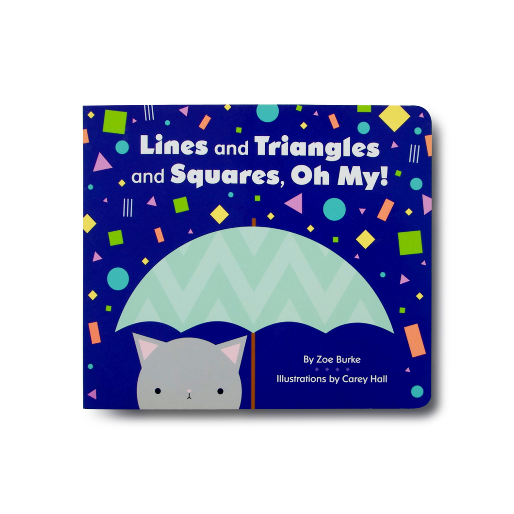 Lines and Triangles and Squares, Oh My! - Me Books Asia Store