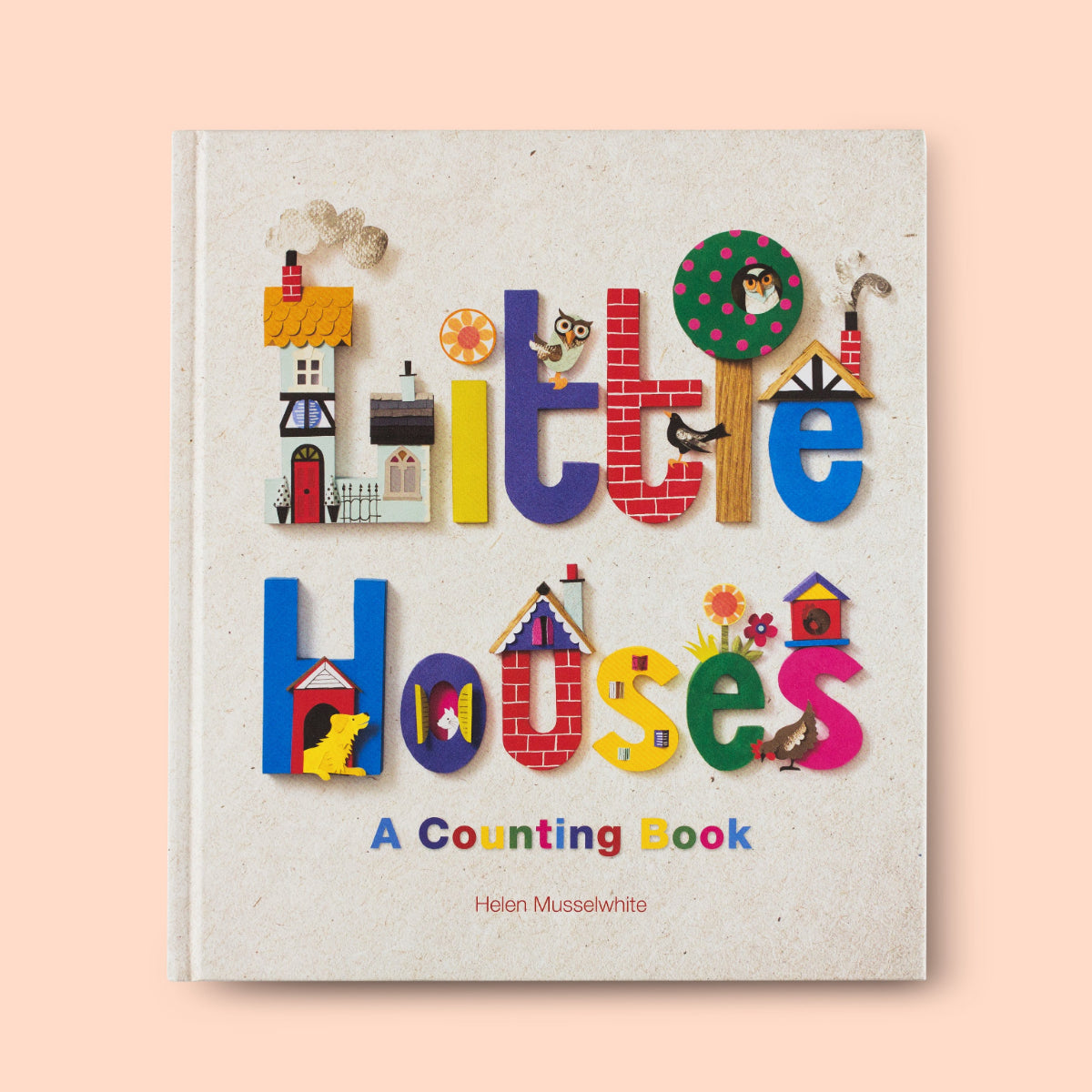 Little Houses: A Counting Book Front Cover | Me Books Store